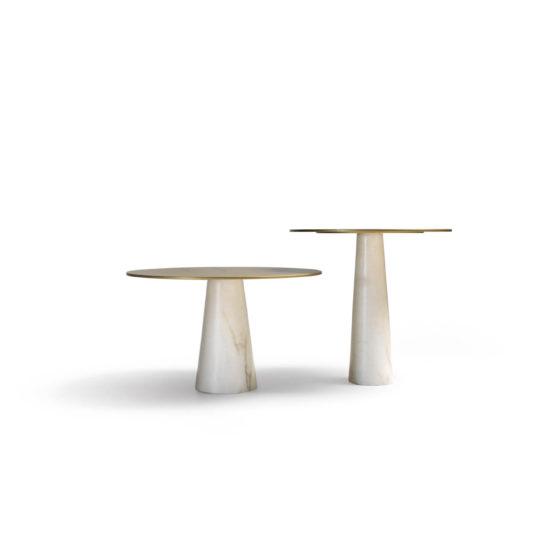 VELADORES MARMOL diseño de mobiliario