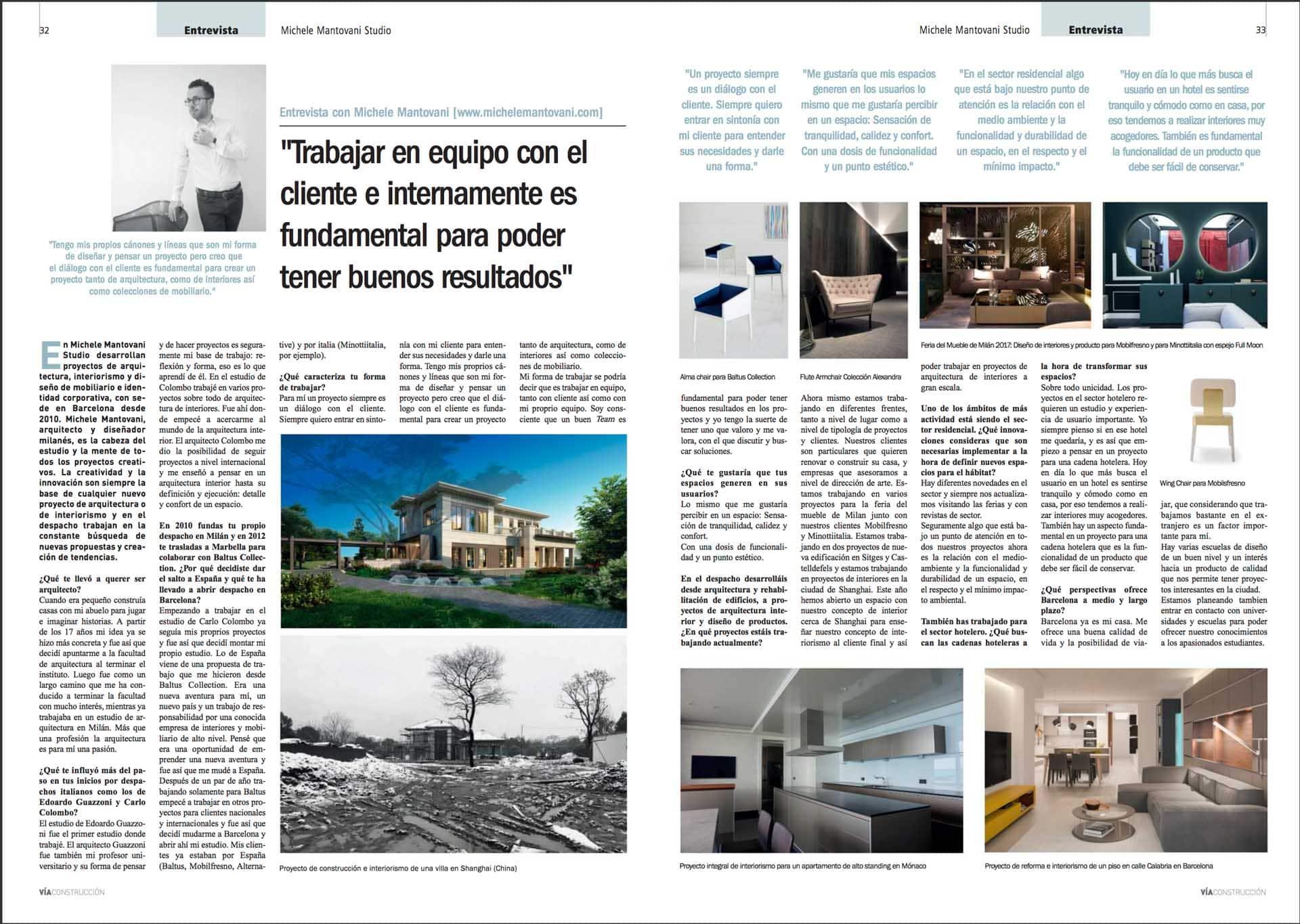 entrevista Michele Mantovani
