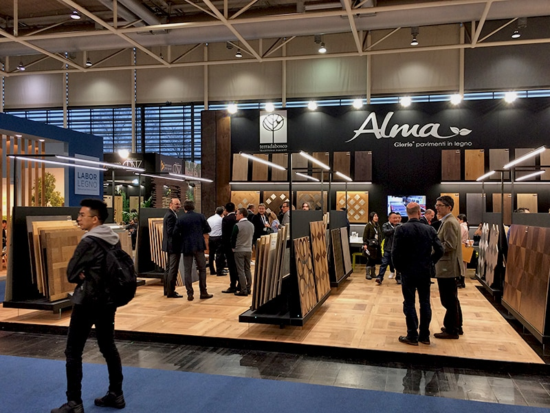 diseño stand ferias Alma hannover
