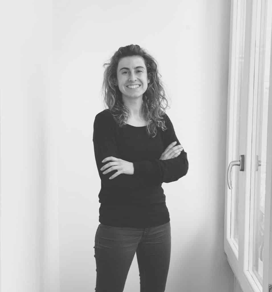 Sandra Angles desarrolla los proyectos de interiorismo y los acabados para los diseños de stands e identidad corporativa.