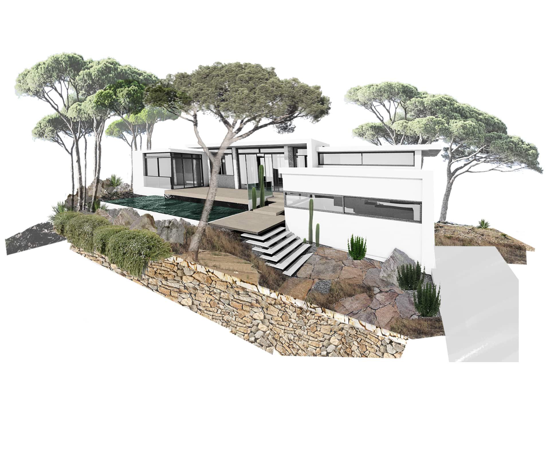 La arquitectura sostenible pretende reducir el impacto de los edificios en el medio ambiente.