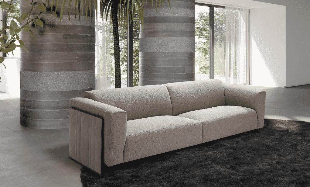 La estructura interna del la colección de muebles Cube se ha realizado para proporcionar un gran nivel de confort.