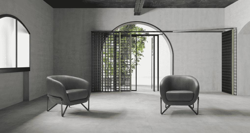 La colección de muebles Lucy es un homenaje al diseño italiano de los años 60 y 70.