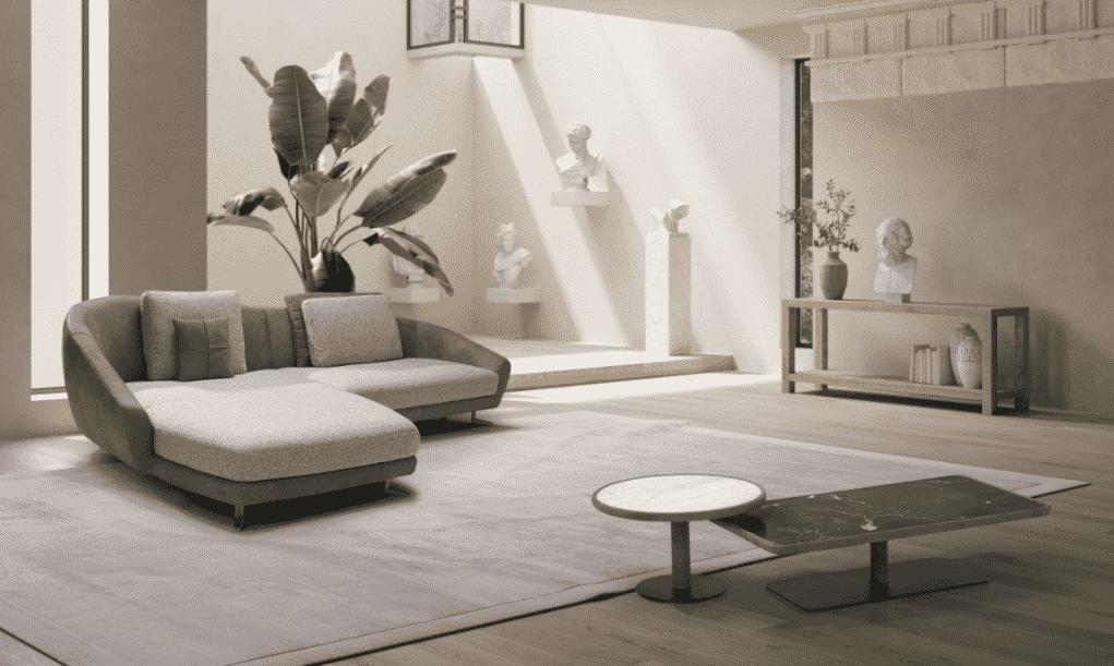 La colección de muebles Ola es una reinterpretación de la clásica chaise longue y una auténtica oda al diseño orgánico y la vida placentera.