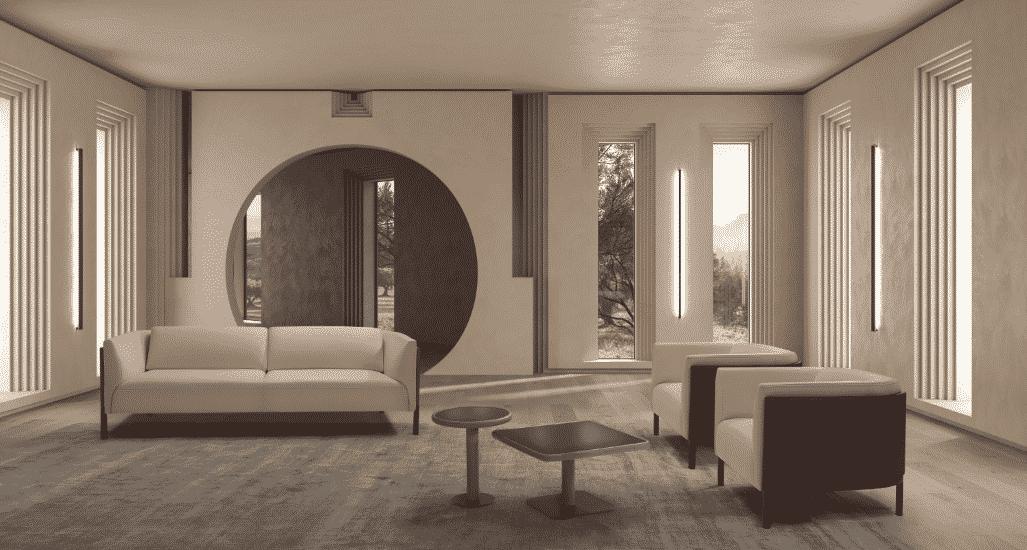 El equipo de Michele Mantovani Studio ha diseñado la nueva colección de muebles de Kelvin Giormani.